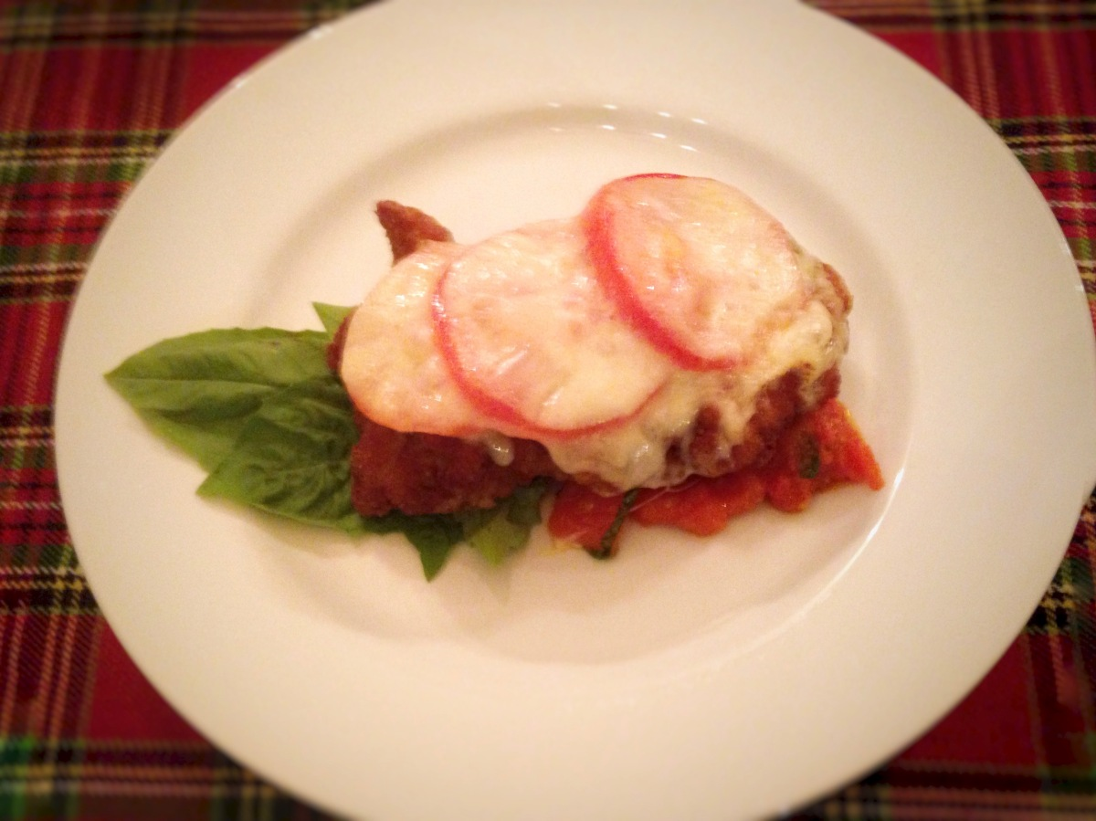 Chicken Parmigiana Light
