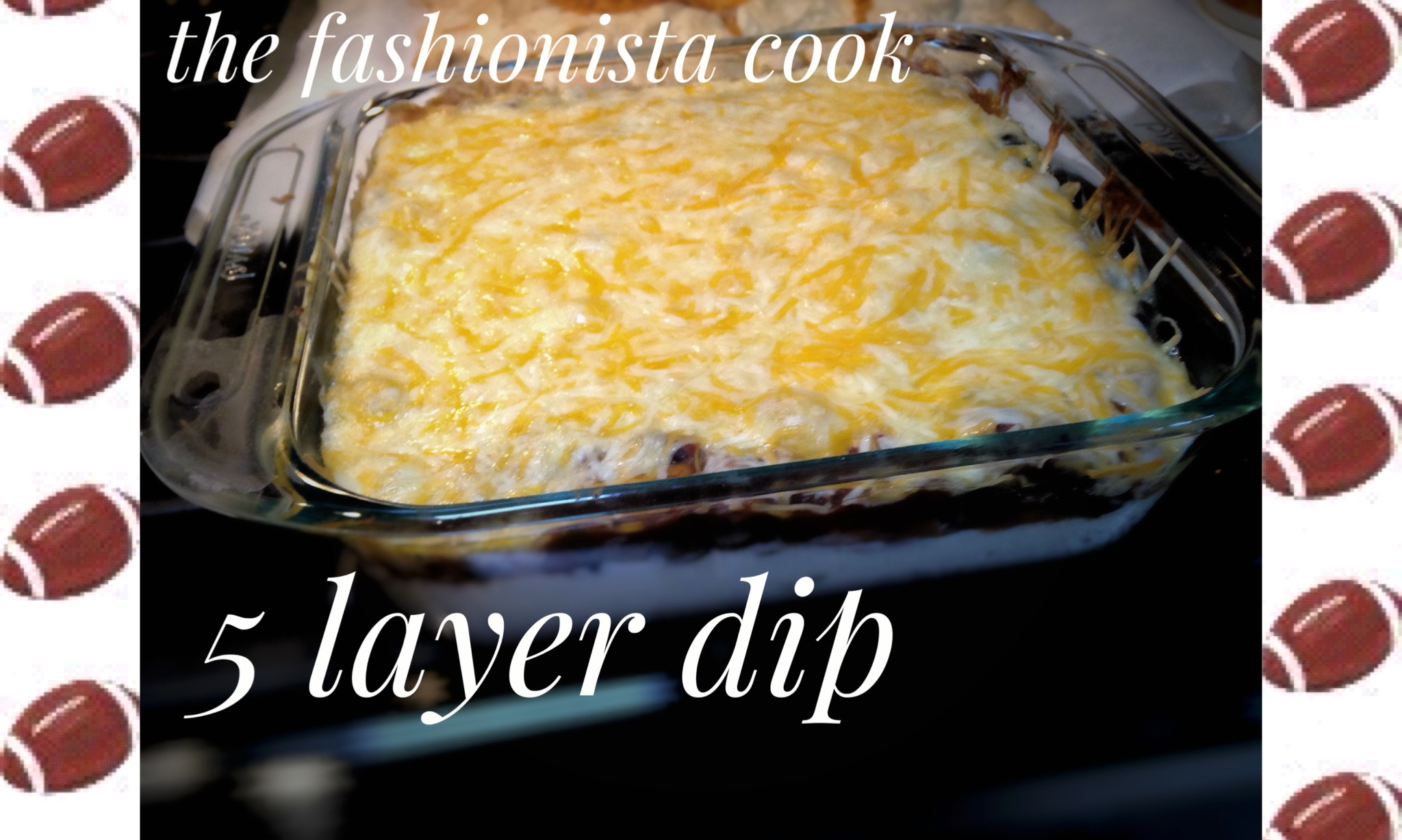 Game Day Dip — the fashionista cook