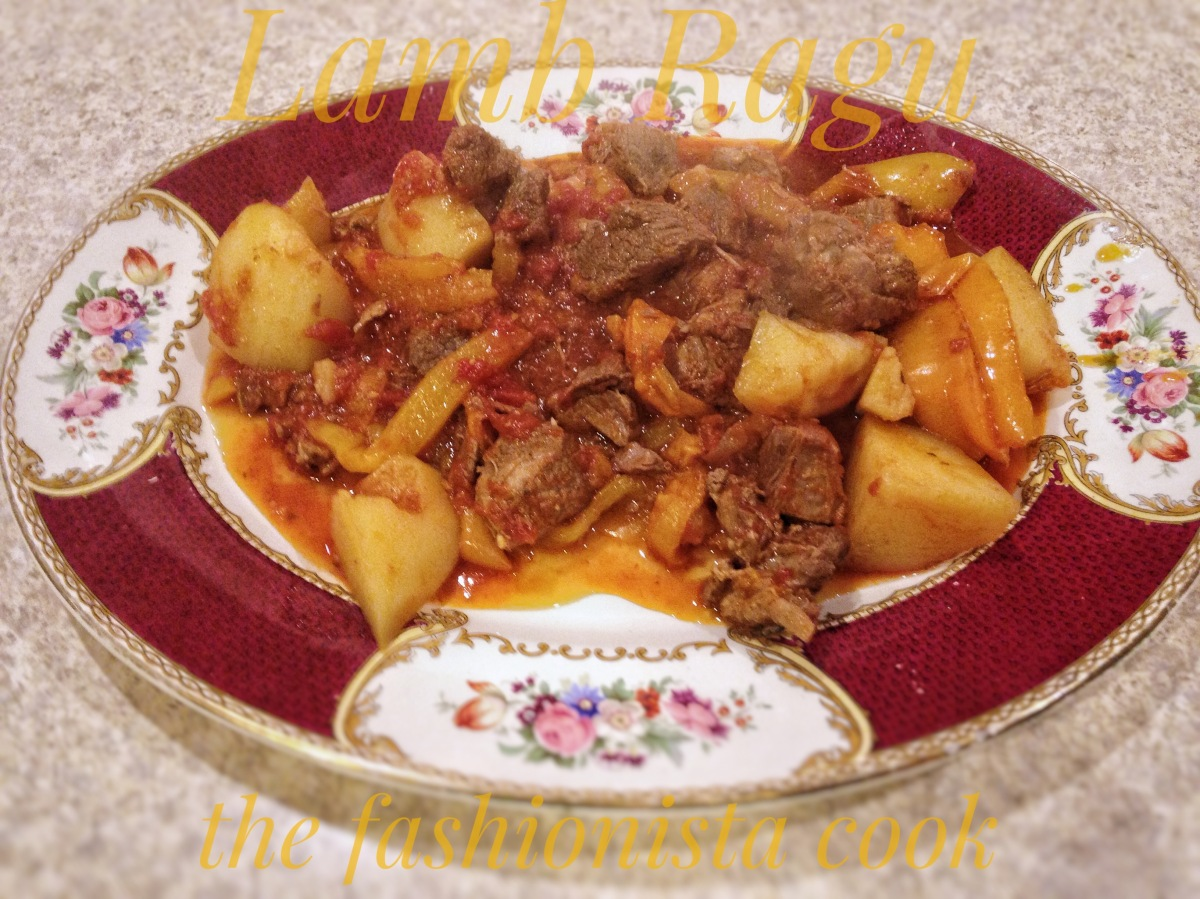 Lamb, Peppers and Potato Ragu