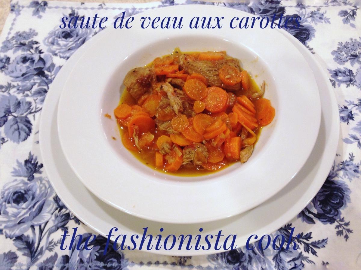 Saute` de Veau aux Carottes (Saute` Veal with Carrots)