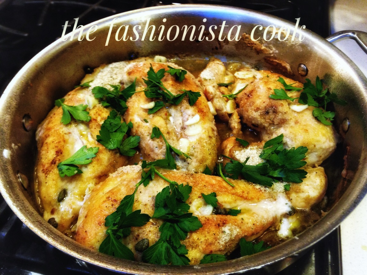 Skillet Chicken Breasts With Olive Oil And Garlic The Fashionista Cook