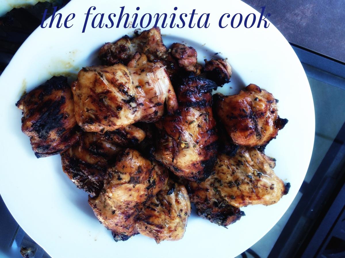 Lavender Honey Glazed Chicken – the fashionista cook