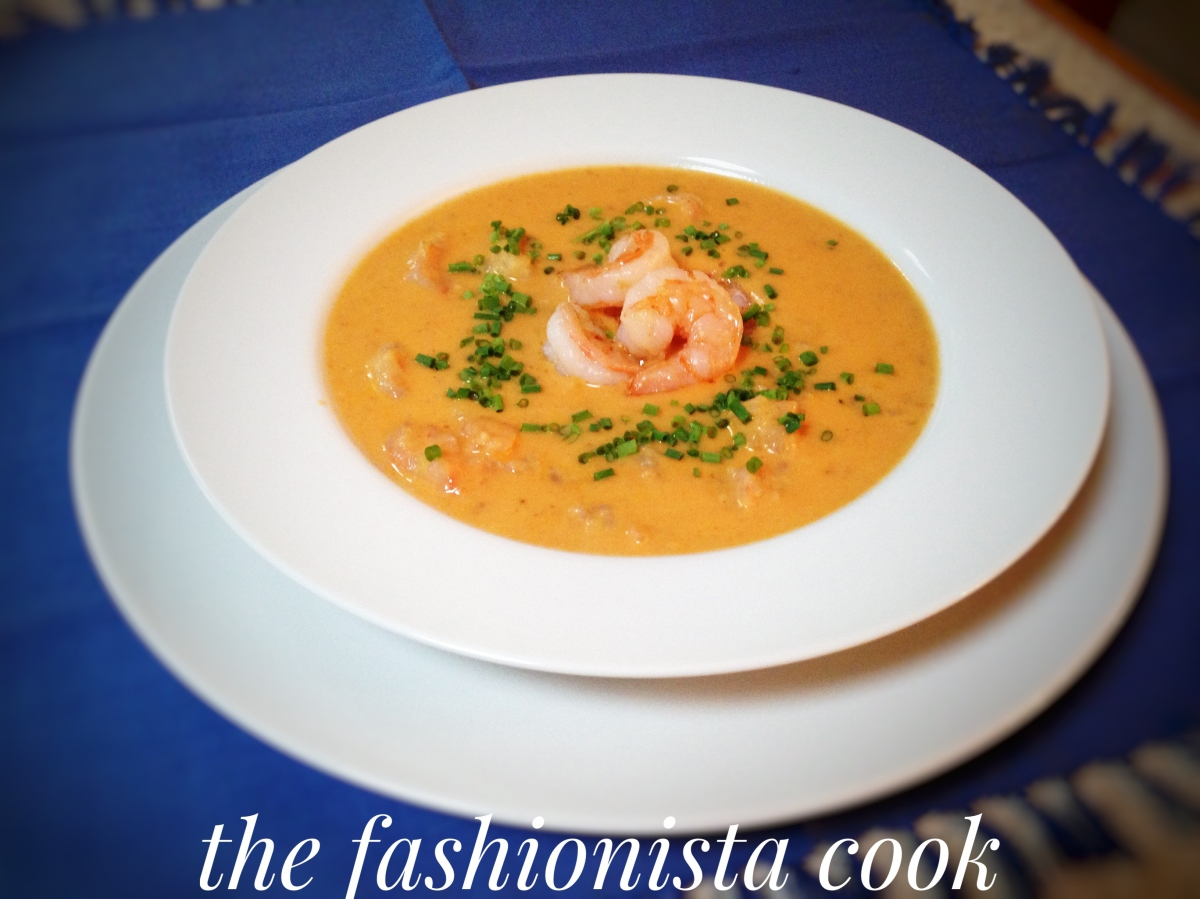 Shrimp Bisque with Bourbon