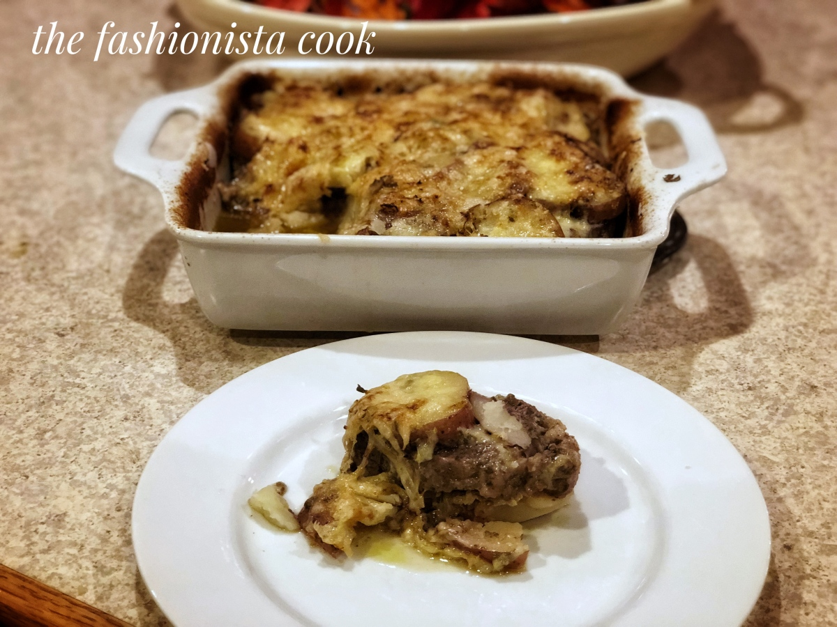 Layered Beef, Cabbage, and Potato Casserole